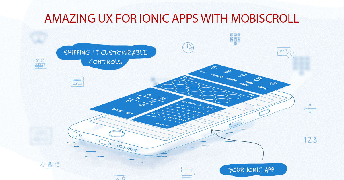 Advanced Ionic components for Ionic 1, Ionic 2, 3 and Ionic